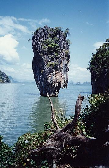 Baie de Phang Nga : le rocher de James Bond
